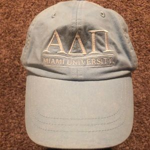 ADPi Letters Hat